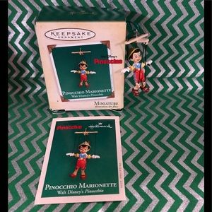 Hallmark Keepsake Ornament Disney's Pinocchio